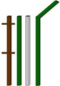 изготовление металлические столбы в Яровое