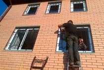 Монтаж решеток в Яровое