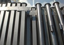 Металлические столбы в Яровое изготовление и монтаж г.Яровое
